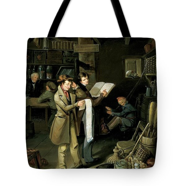 The Long Bill Tote Bag by James Henry Beard