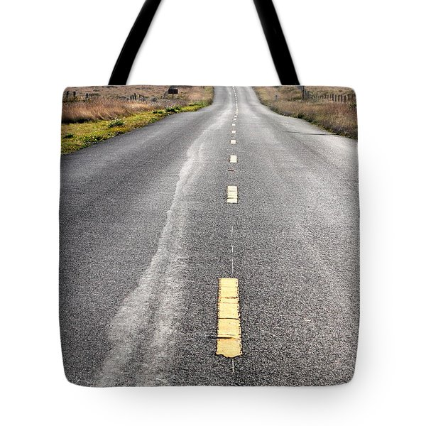 The Long Road Home . 7D9898 Tote Bag by Wingsdomain Art and Photography