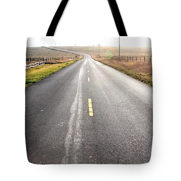 The Long Road Home . 7d9903 Tote Bag by Wingsdomain Art and Photography