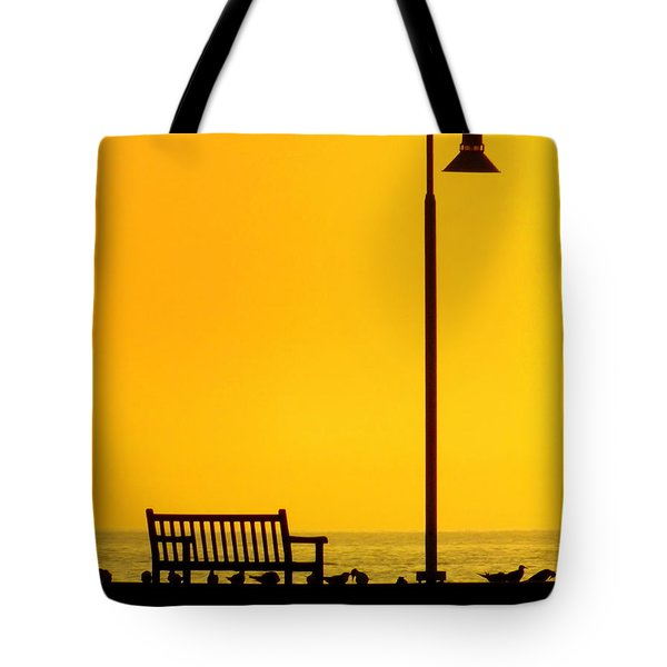 The Long Wait Tote Bag by KAREN WILES