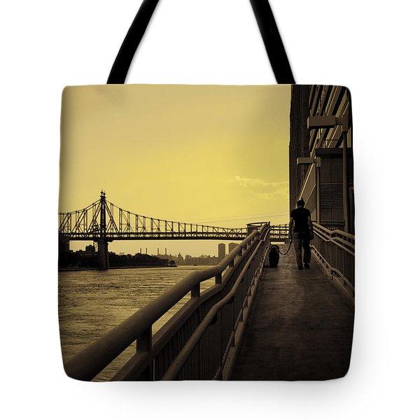 The Long Walk Tote Bag by Madeline Ellis