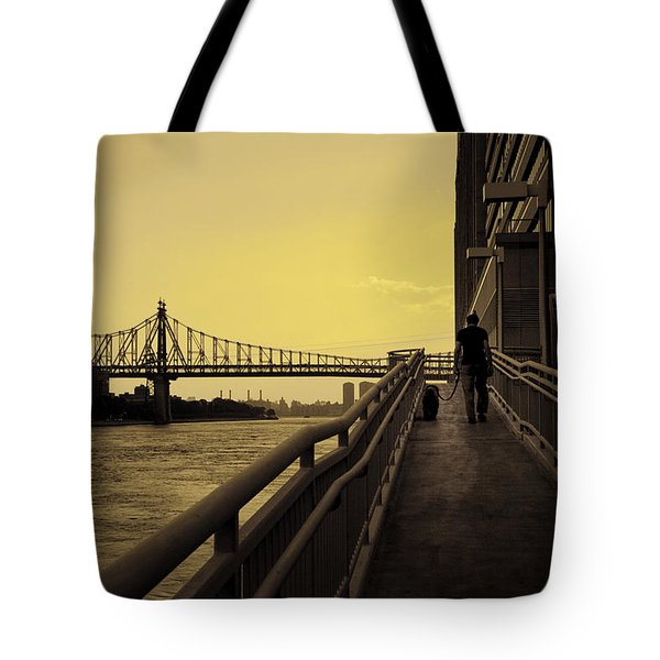 The Long Walk Tote Bag by Madeline Ellis