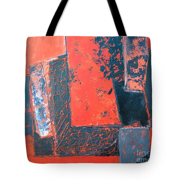 The Ludic Trajectories Of My Existence Tote Bag by Ana Maria Edulescu