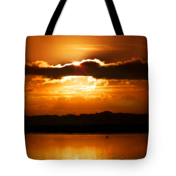 The Magic of Morning Tote Bag by KAREN WILES