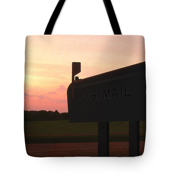 The Mail Of Old Tote Bag by Mike McGlothlen