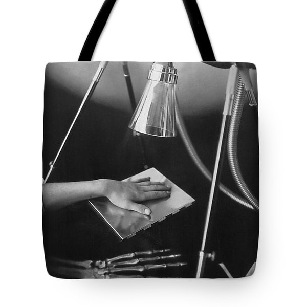 The Marvels Of Metalix 1930 Tote Bag by Science Source