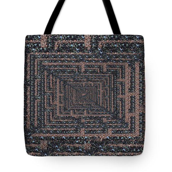 The Maze Tote Bag by Tim Allen
