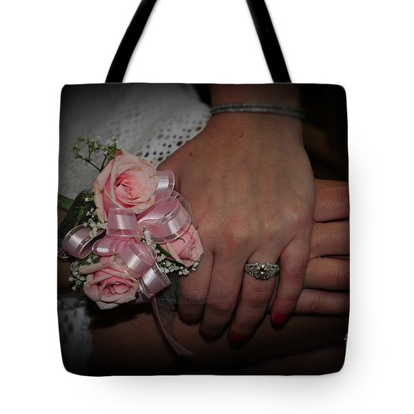 The Moment She Knew Tote Bag by Paul Ward