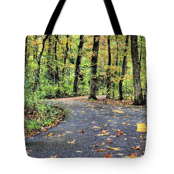 The Mount Vernon Trail. Tote Bag by JC Findley