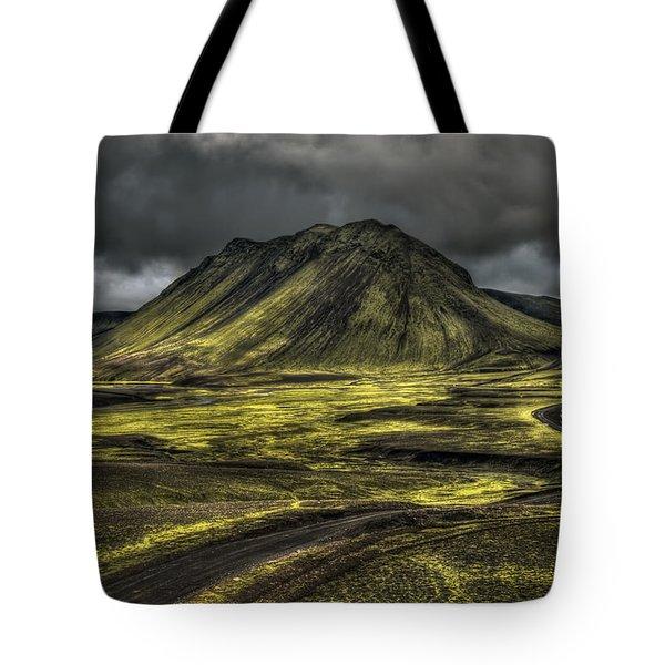 The Mountain Pass Tote Bag by Evelina Kremsdorf