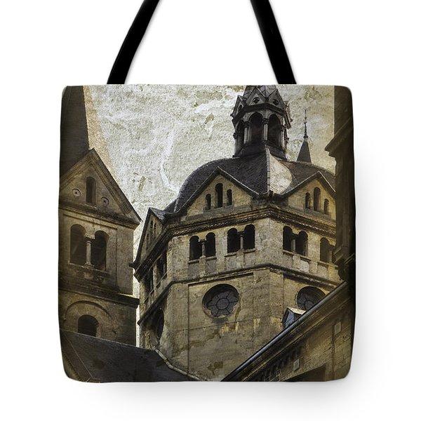 The Munsterkerk Roermond Tote Bag by Mary Machare