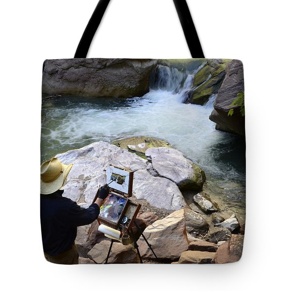 The Narrows Quality Time Tote Bag by Bob Christopher