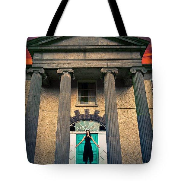 The Necromantic Ritual Tote Bag by Semmick Photo