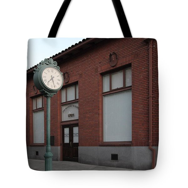 The Old Banker's Building - 5d18429 Tote Bag by Wingsdomain Art and Photography