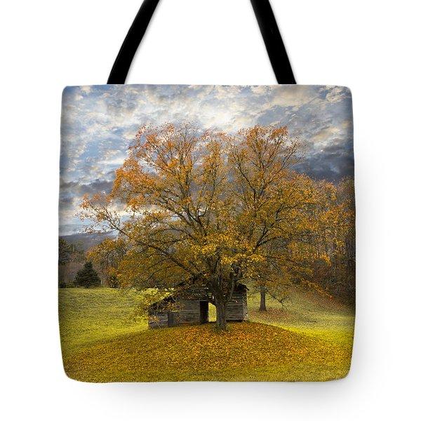 The Old Oak Tree Tote Bag by Debra and Dave Vanderlaan
