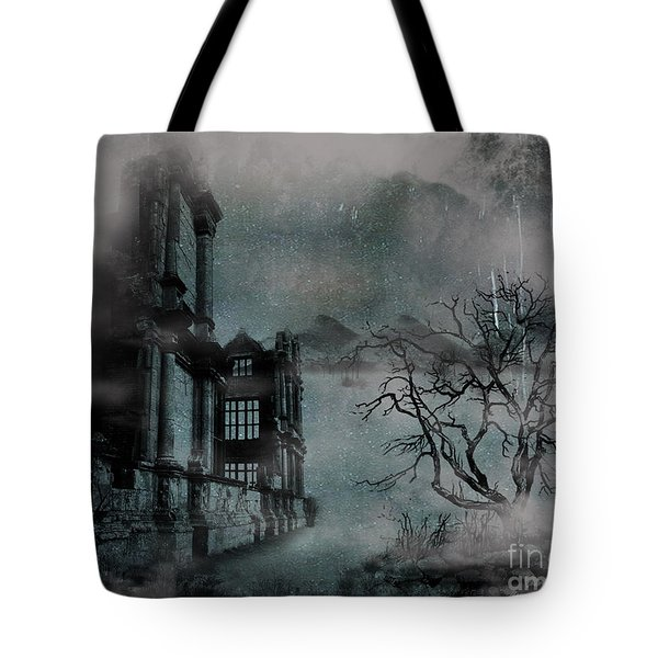 The Old Ruins Tote Bag by Cheryl Young