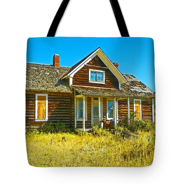 The Old School House Tote Bag by Lenore Senior and Dawn Senior-Trask