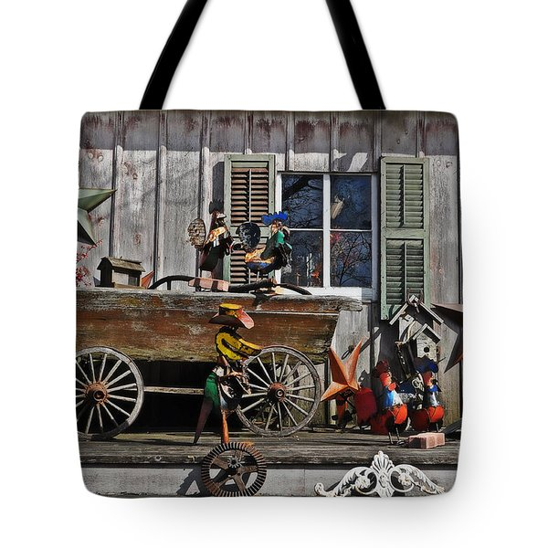 The Old Shed Tote Bag by Mary Machare