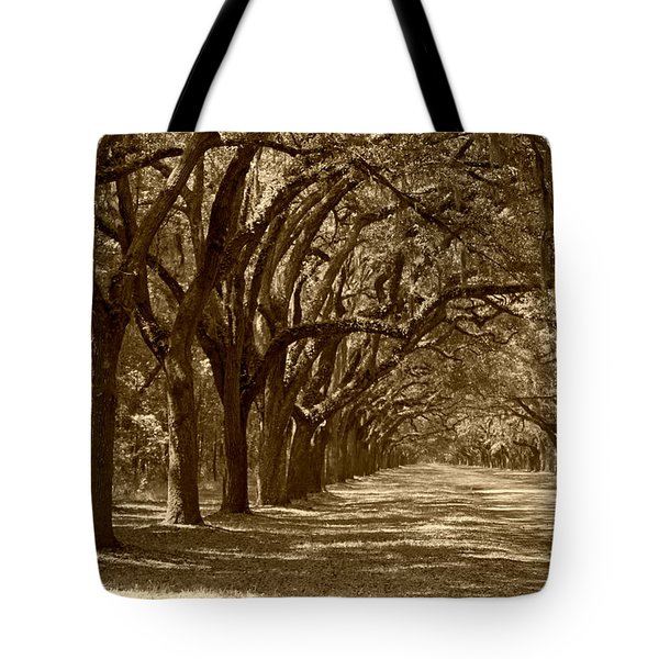 The Old South Series in sepia Tote Bag by Suzanne Gaff