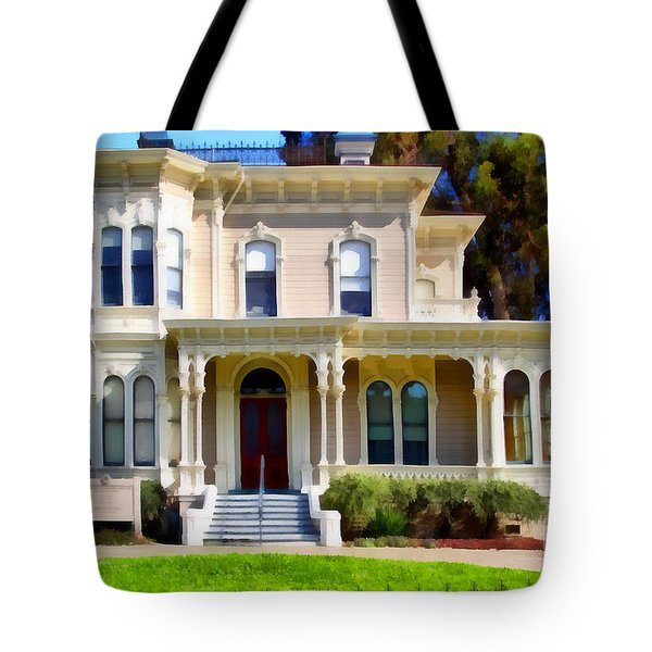 The Old Victorian Camron-Stanford House in Oakland California . 7D13440 Tote Bag by Wingsdomain Art and Photography