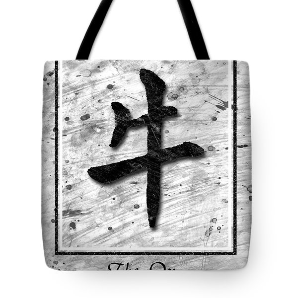 The Ox Tote Bag by Mauro Celotti