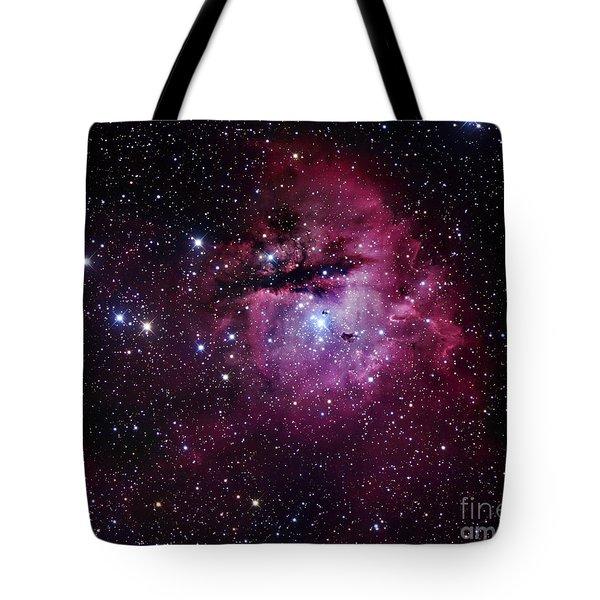 The Pacman Nebula Tote Bag by Robert Gendler