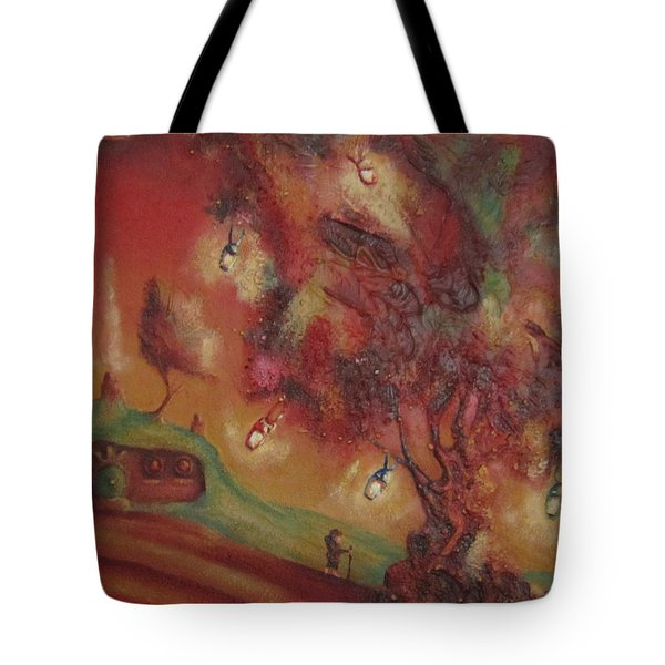 The Party Tree. Never To Be Seen Again. Tote Bag by Joe  Gilronan