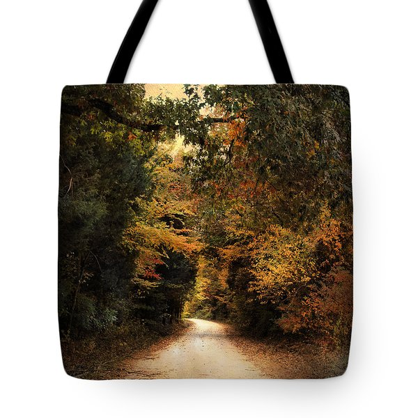 The Path Less Traveled Tote Bag by Jai Johnson