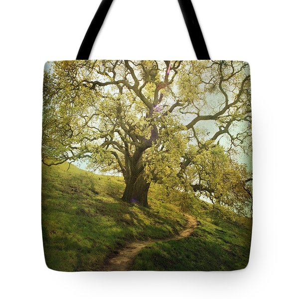 The Path To Brighter Days Tote Bag by Laurie Search
