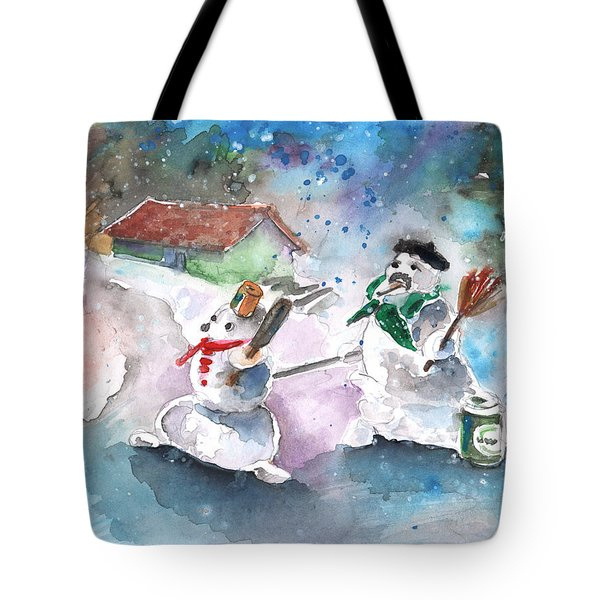 The People From The Troodos Mountains Tote Bag by Miki De Goodaboom