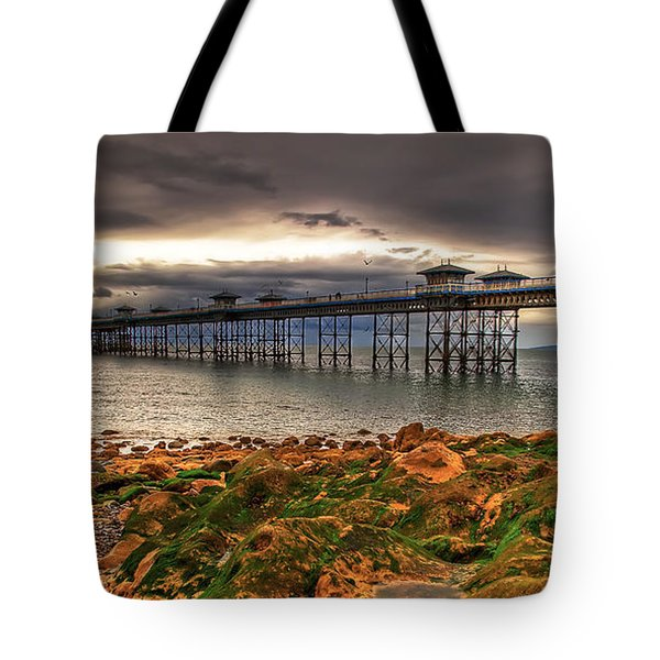 The Pier Tote Bag by Adrian Evans