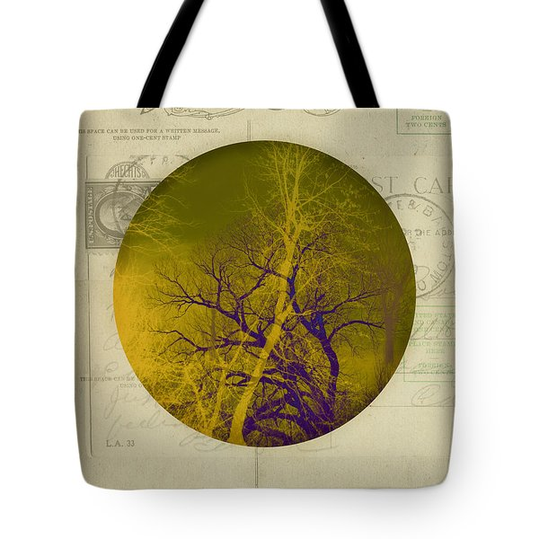 The Postcard Tote Bag by Ann Powell
