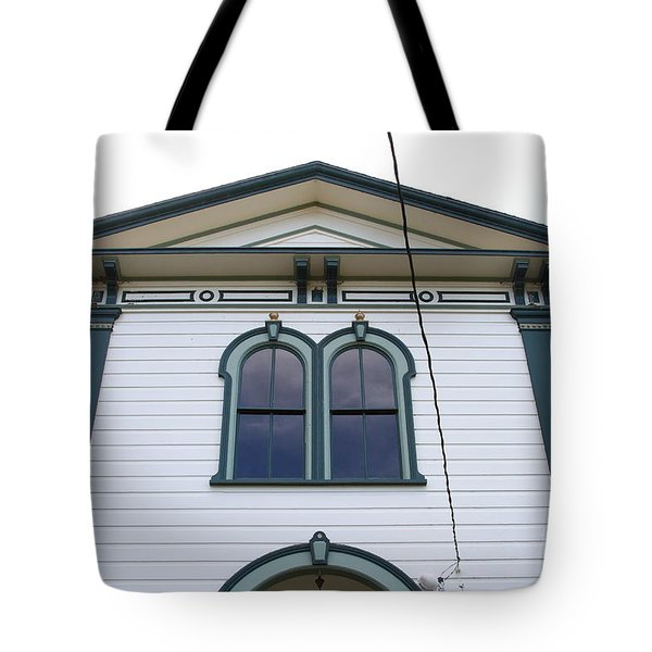 The Potter School House . Bodega Bay . Town of Bodega . California . 7D12482 Tote Bag by Wingsdomain Art and Photography