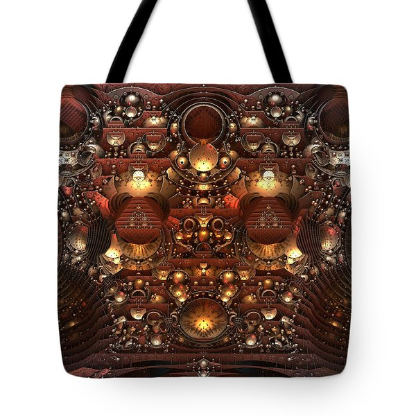 The Power And The Glory Tote Bag by Lyle Hatch