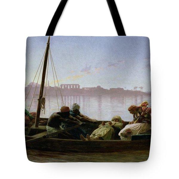 The Prisoner Tote Bag by Jean Leon Gerome