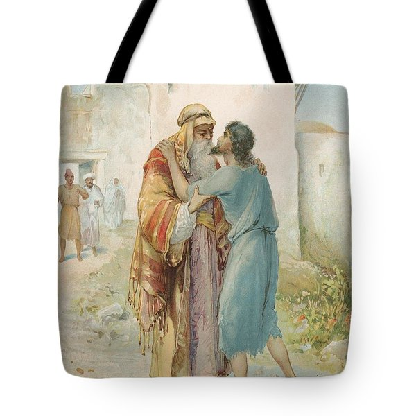 The Prodigal's Return Tote Bag by Ambrose Dudley