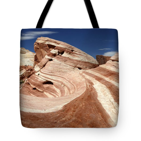 The Purple Wave Tote Bag by Bob Christopher