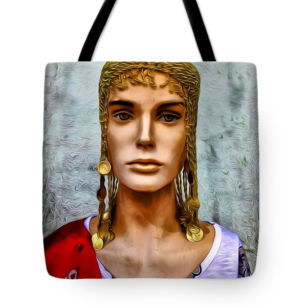 The Queen Of Bourbon Street Tote Bag by Bill Cannon