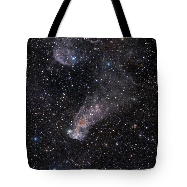 The Question Mark Nebula In Orion Tote Bag by John Davis