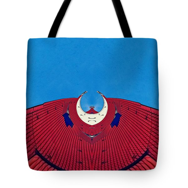 the red dress - Archifou 71 Tote Bag by Aimelle
