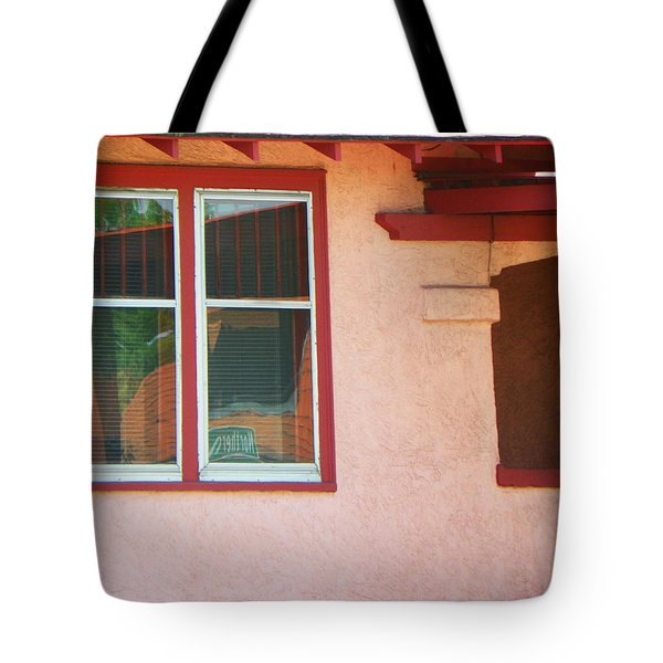 The Red House Tote Bag by Lenore Senior