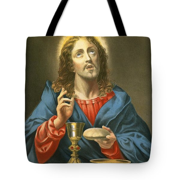 The Redeemer Tote Bag by Carlo Dolci