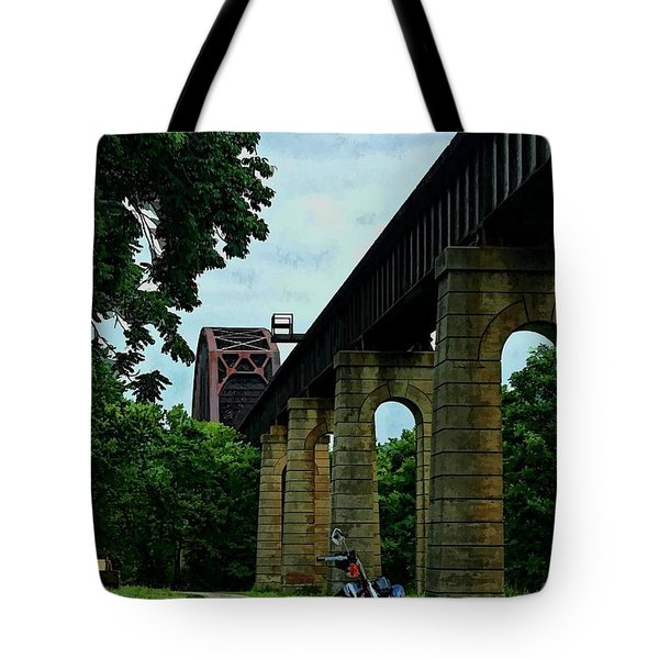 The Ride Tote Bag by Tommy Anderson