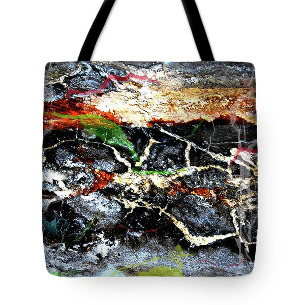 The Rock Tote Bag by Jerry Cordeiro