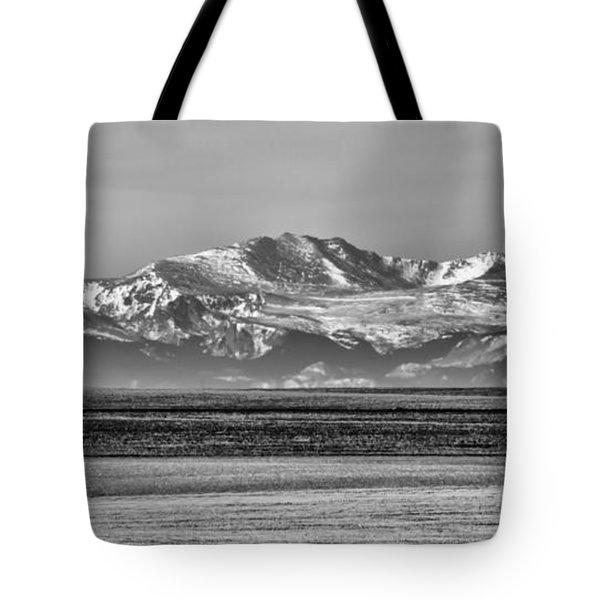 The Rockies Tote Bag by Heather Applegate