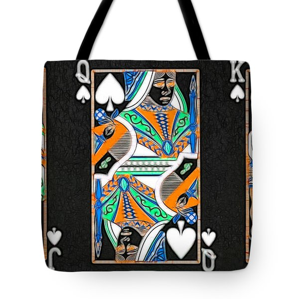 The Royal Spade Family Tote Bag by Wingsdomain Art and Photography