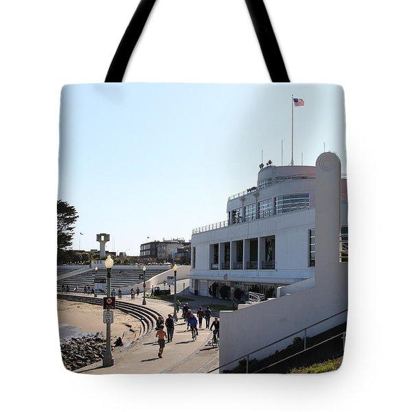 The Sala Burton Building . Maritime Museum . San Francisco California . 7D13993 Tote Bag by Wingsdomain Art and Photography