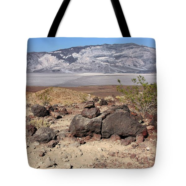 The Salt Flats of Death Valley Tote Bag by Christine Till