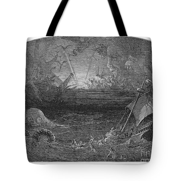 The Sea Of Darkness Tote Bag by Granger