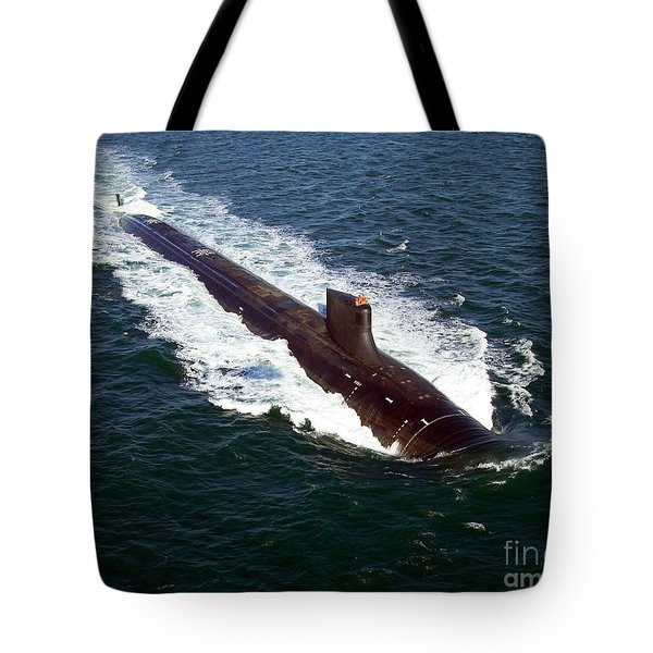 The Seawolf-class Nuclear-powered Tote Bag by Stocktrek Images